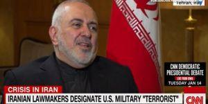 Zarif'ten ABD'ye sert çıkış: Devlet terörüne orantılı yanıt vereceğiz