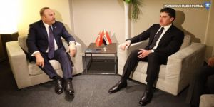 Mevlüt Çavuşoğlu,Barzani'yle görüştü