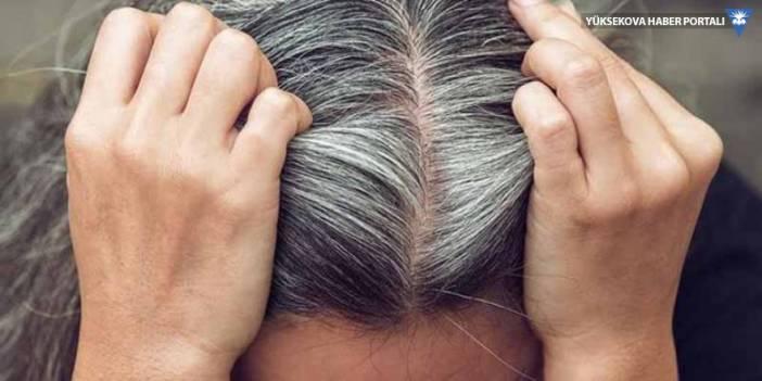 Stresin saçları beyazlattığı kanıtlandı