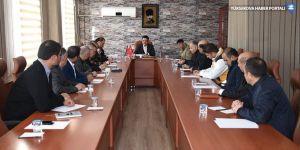 Yüksekova'da 'deprem' toplantısı