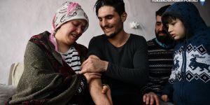 Kendilerini kurtaran Suriyeli Mahmud'la buluştular