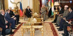 Barzani Rus heyetiyle Suriyeli Kürtleri konuştu