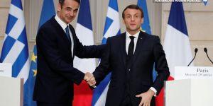 Atina: Fransa'nın Doğu Akdeniz'e savaş gemisi göndermesinden memnunuz