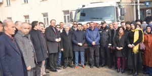 Yüksekova'dan depremzedelere yardım