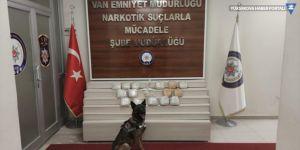 Van'da 15 kilo 390 gram eroin ele geçirildi