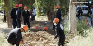 Rakka'da toplu mezarlarda 5 bin 700 cenaze çıkarıldı