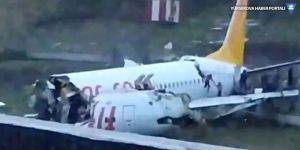 İstanbul'da uçak kazası: 3 ölü, 179 yaralı