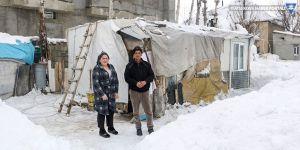 Yüksekova: 4 yıldır konteynerde yaşıyorlar