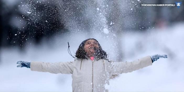Hakkari, Yüksekova ve Şemdinli'de eğitime kar engeli