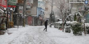 Cizre'de 3 yıl aradan sonra kar yağışı