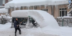 Hakkari ve Van'a 'yoğun kar' uyarısı