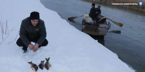 Muradiye'de kış balıkçılığı