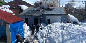 Yüksekova'da yangın paniği
