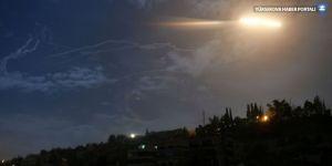 SANA: İsrail helikopterleri Kuneytra'da Suriye ordusu noktalarına saldırdı