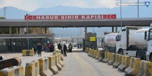 Habur Sınır Kapısı korona virüsü nedeniyle yeniden kapatıldı