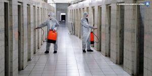 Van'daki camilerde koronavirüs önlemi