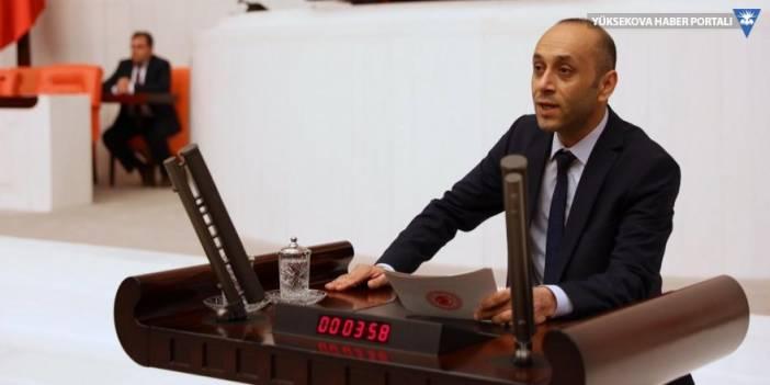 HDP Hakkari Milletvekili Dede, Bakan Soylu'ya tahrip edilen mezarlığı sordu