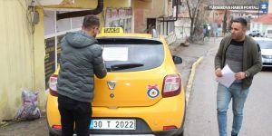 Şemdinli'de taksiciler sağlık personelini ücretsiz taşıyacak