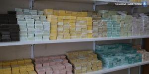 Van Gölü suyundan yapılan sabunlar dünyaya dağılıyor