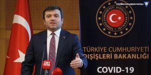'8 ülkede 50 Türk vatandaşı Kovid-19 nedeniyle hayatını kaybetti'