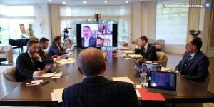 Erdoğan kabine üyeleriyle görüştü