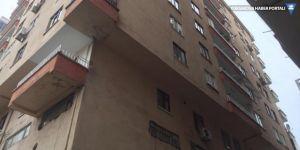Diyarbakır'da bir bina karantina altına alındı