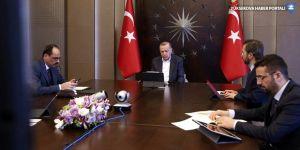 Cumhurbaşkanı Erdoğan, Hakan Fidan'la görüştü