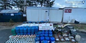 Valilik: Yüksekova'da uyuşturucu yapımında kullanılan malzemeler ele geçirildi