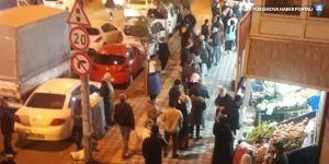 Sokağa çıkma yasağı sonrası yurttaşlar sokağa akın etti!
