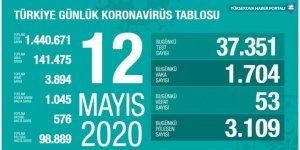Türkiye'de koronavirüs nedeniyle hayatını kaybedenlerin sayısı 3 bin 894'e yükseldi
