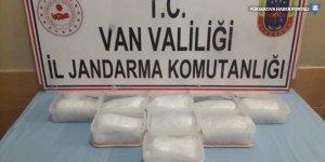 Başkale'de 9 kilogram uyuşturucu ele geçirildi