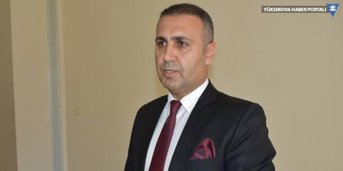 Hakkari Baro Başkanı Canan'dan Bayram mesajı