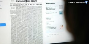 New York Times, ilk sayfasında salgında yaşamını yitirenlerin isimlerine yer verdi