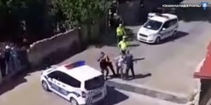 Çorlu'da polis, evlerinin önünde oturan vatandaşlara sert müdahalede bulundu