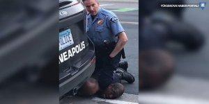ABD'de ırkçı vahşet: Polis şüpheliyi boğarak öldürdü