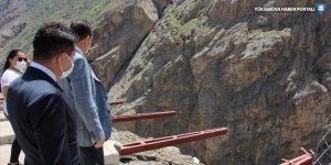 Vali Akbıyık, yapımı devam eden mesire alanlarını denetledi