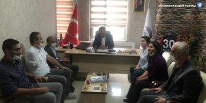 HDP'den Yüksekova'daki STK'lara ziyaret