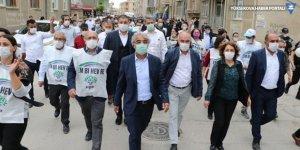 Sancar: Yürüyüşümüzün amacı demokrasi isteğini halkımızla paylaşmak