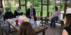 SAADET'ten Başak Demirtaş'a destek ziyareti