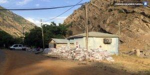 Hakkari'de bir köy karantinaya alındı