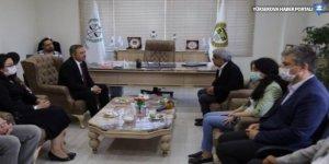 Mithat Sancar, Van Barosu'nu ziyaret etti: Bu yargı, yargı değildir