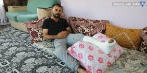 Depremde bacağı kırılan vatandaş yaşadıklarını anlattı