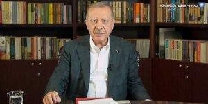 Cumhurbaşkanı Erdoğan: Onlar dizi izleyip film çeviredursun, biz hizmet edip tarih yazmaya devam edeceğiz