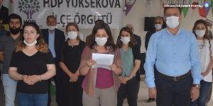 HDP'den 'Rojbin Çetin' Açıklaması