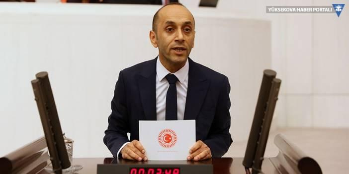 HDP'li Dede, Hakkari'deki covid-19 vakalarını Bakan Koca'ya sordu