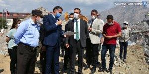 Hakkari'ye 1000 kişilik öğrenci yurdu yapılıyor