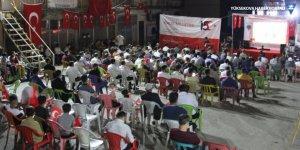Şemdinli'de 15 Temmuz programı