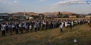 Yüksekova'daki kazada hayatını kaybedenler toprağa verildi