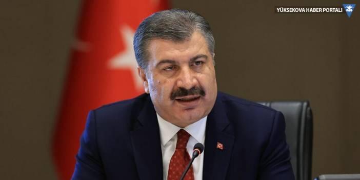 Sağlık Bakanı Koca: Van'da vaka sayısı 2 katına çıktı