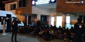 Van'da 63 göçmen yakalandı